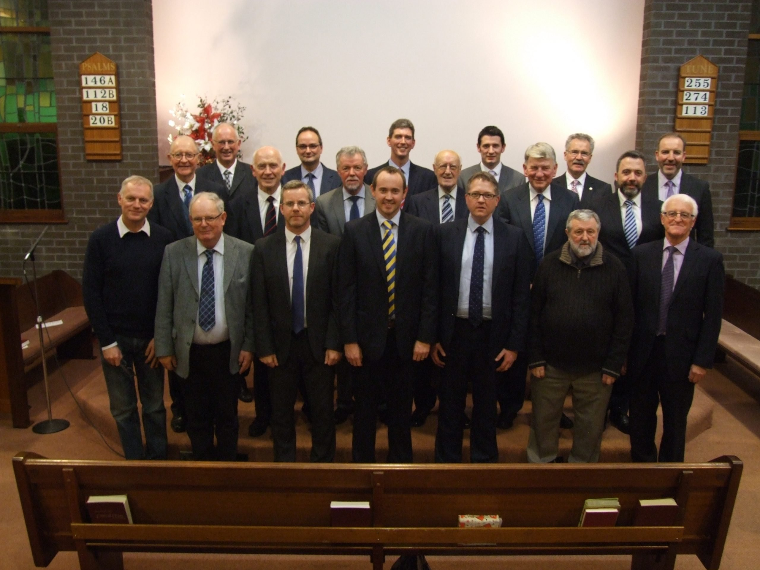 Trinity Session and Deacons